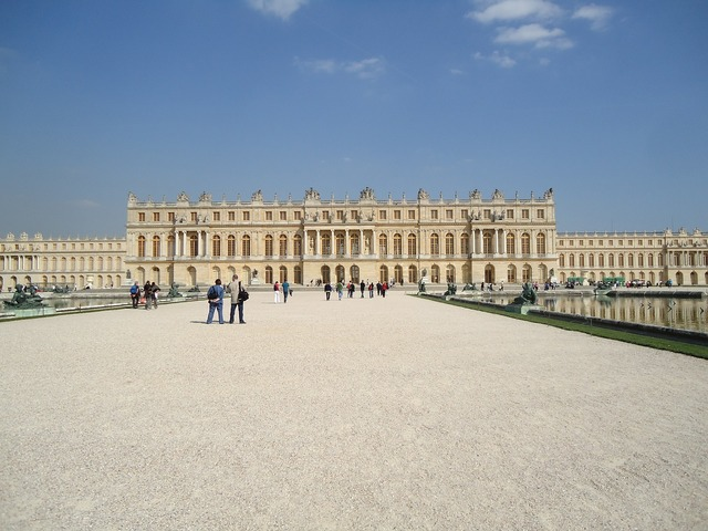 Versailles palace tourism, travel vacation.