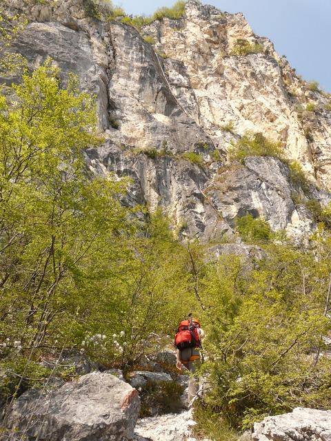 Via dell'amicizia hike hiking.