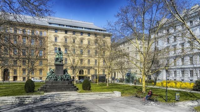 Vienna austria beethoven plaza, architecture buildings.