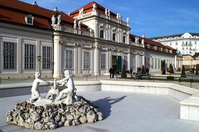 Vienna belvedere lower belvedere.