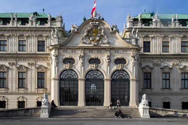 Vienna castle belvedere.