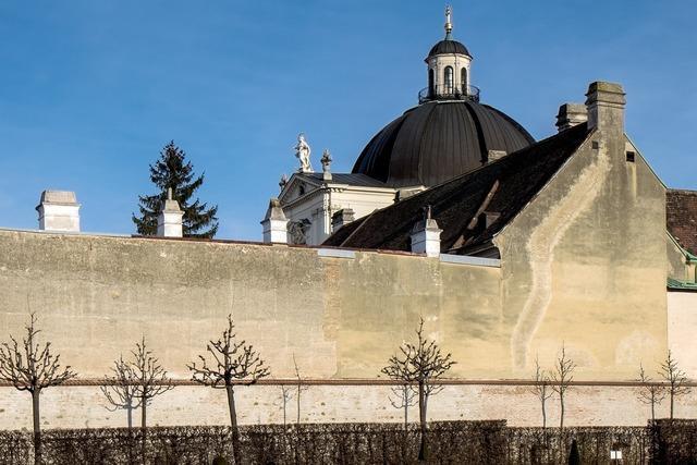 Vienna lower belvedere wall, religion.
