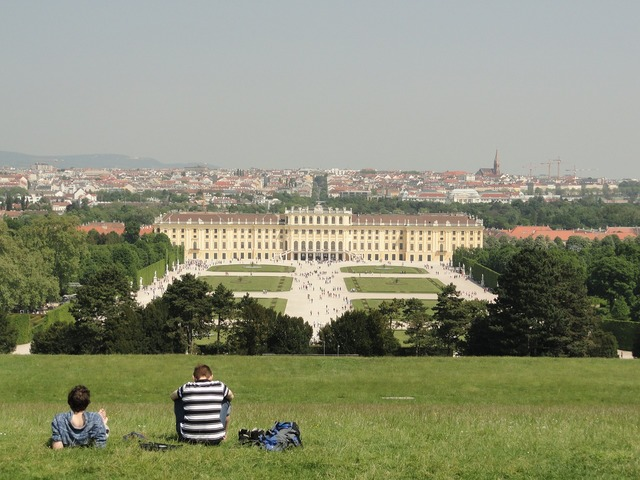 Vienna palace empress sisi, architecture buildings.
