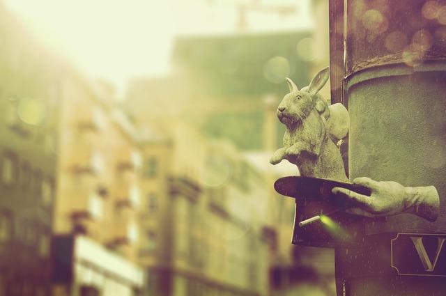 Vienna rabbit hat, architecture buildings.
