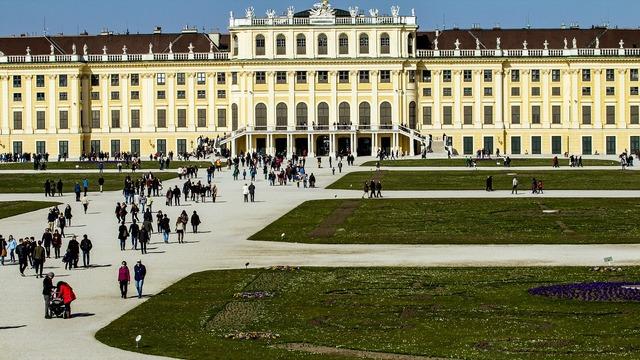 Vienna schönbrunn castle.