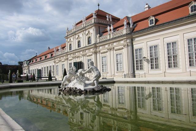 Vienna wien belvedere, architecture buildings.