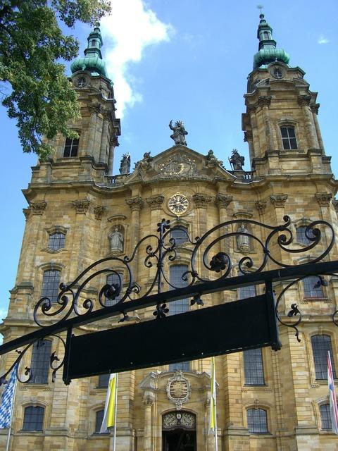 Vierzehnheiligen basilica mainfranken.