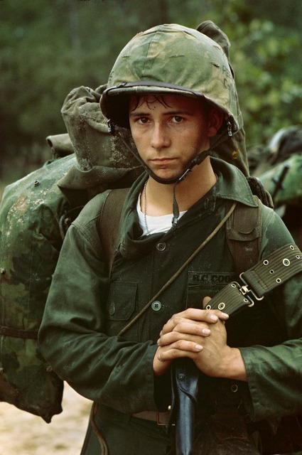 Viet nam war soldier young, people.
