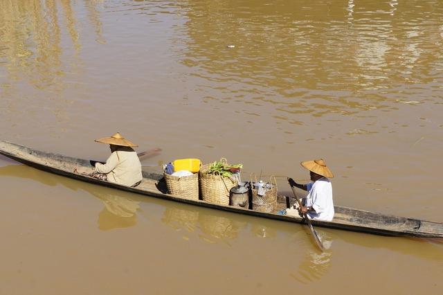 Vietnam asia river.