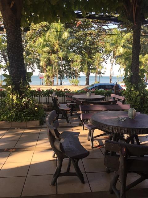 Vietnam beach bar, travel vacation.