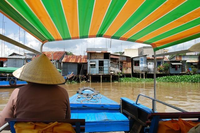 Vietnam boat trip river.
