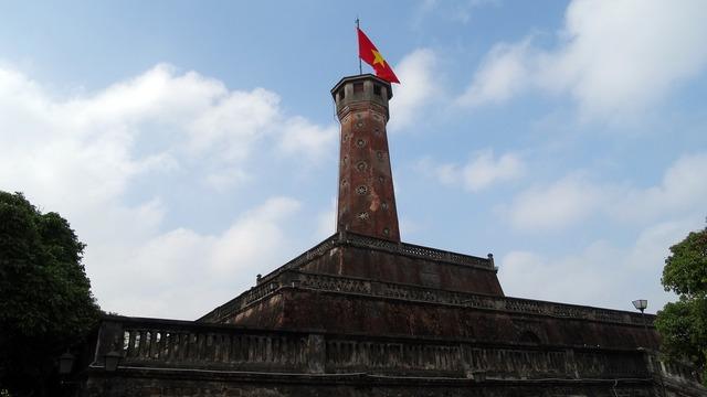 Vietnam honor monument me ho chi.