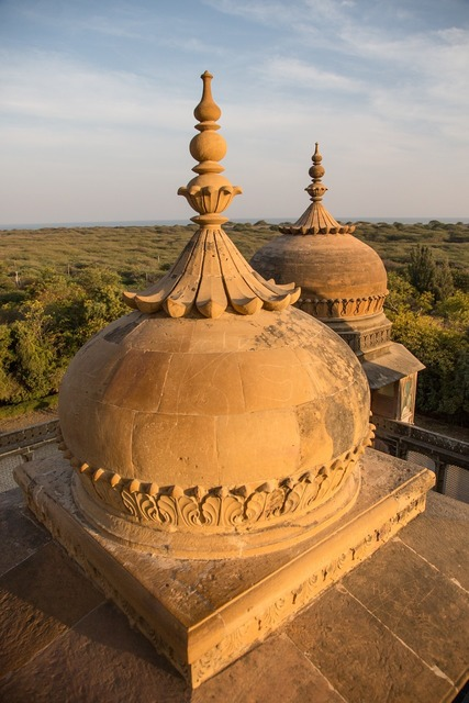 Vijaya vilas palace jadeja rajas of kutch sea-beach of mandvi in kutch, travel vacation.