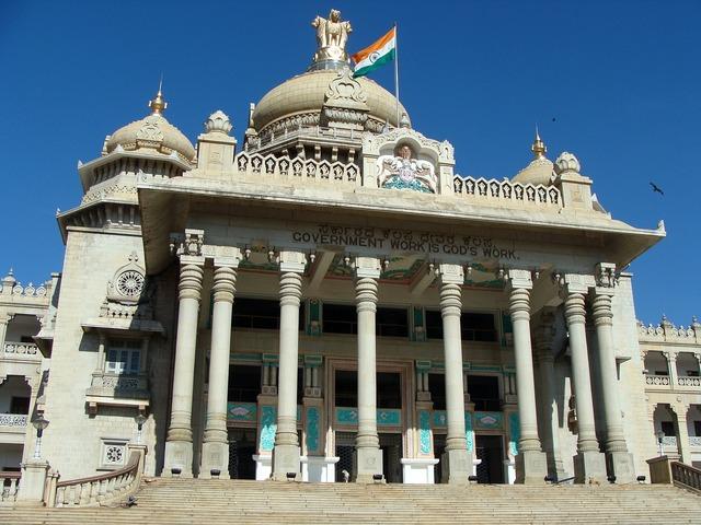 Vikasa soudha vidhana soudha bangalore, architecture buildings.