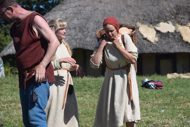 Viking museum vikings denmark.