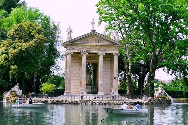 Villa borghese roma rome.