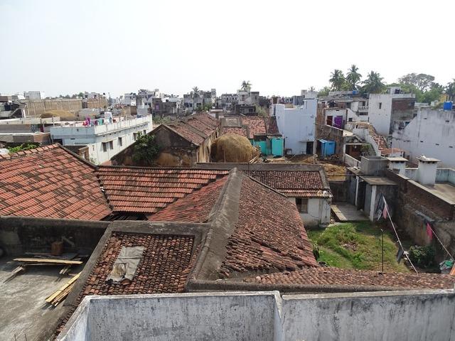 Village asia house, architecture buildings.
