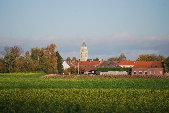 Village church zemst, religion.