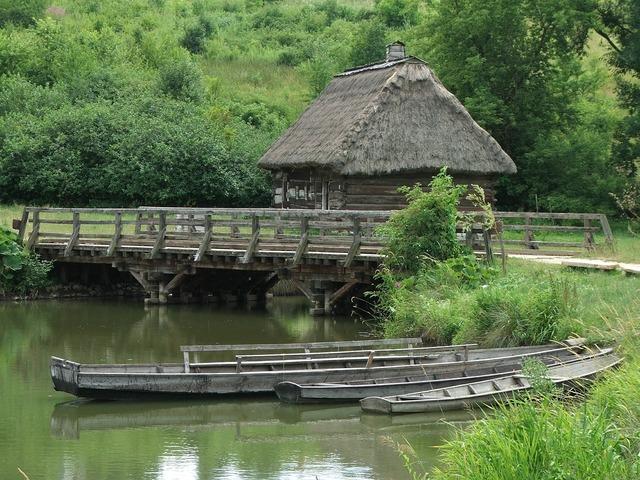 Village open air museum poland, places monuments.