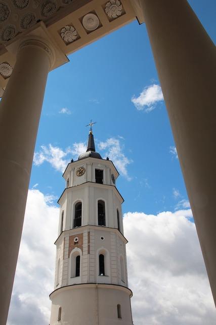 Vilnius lithuania eastern europe, architecture buildings.
