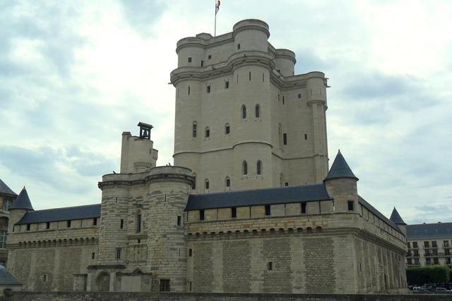 Vincennes castle paris, architecture buildings.