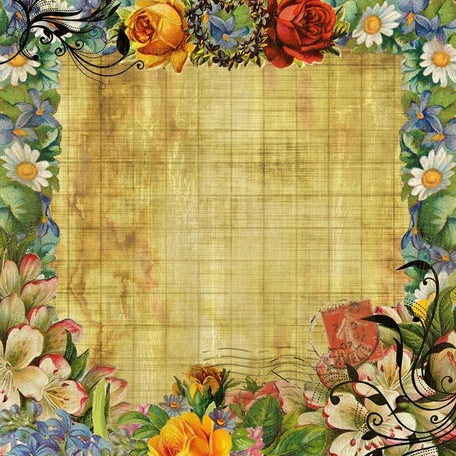 Vintage background flower, backgrounds textures.