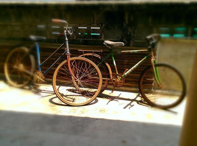 Vintage bike old bicycle, sports.