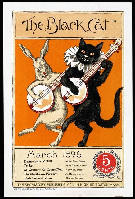 Vintage poster ad, animals.
