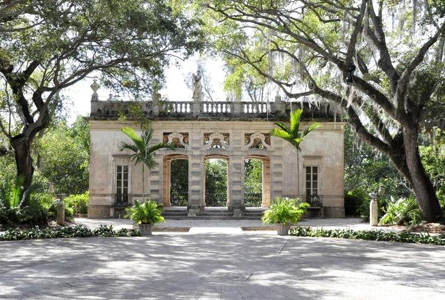 Viscaya miami florida, architecture buildings.