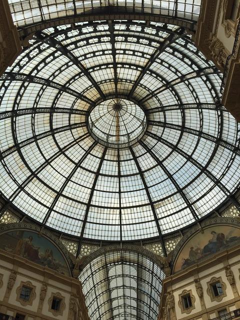 Vittorio emanuele gallery milan italy.