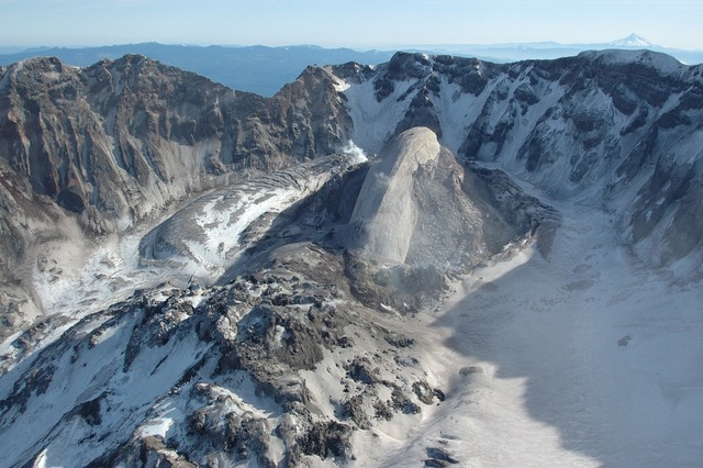 Volcano solidified lava mount st helens, nature landscapes.