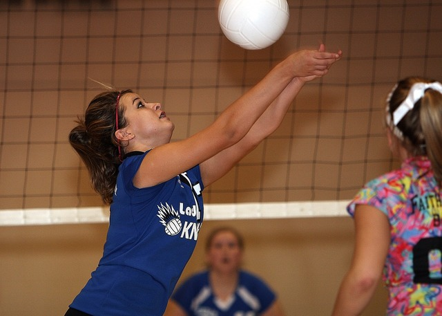 Volleyball female volley, sports.