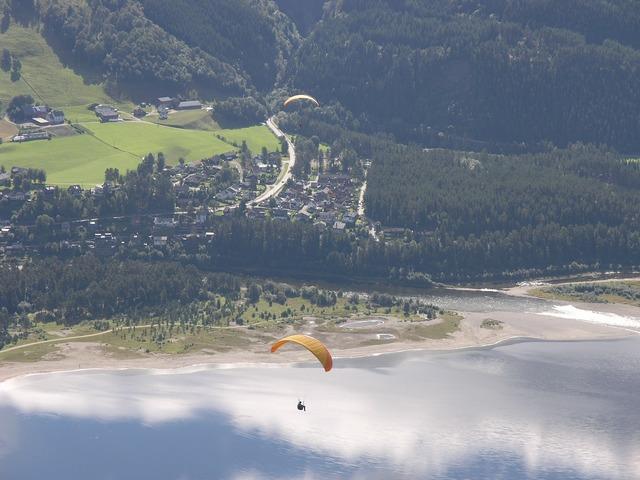 Voss hang gliding sport, sports.