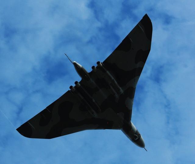 Vulcan plane flight.