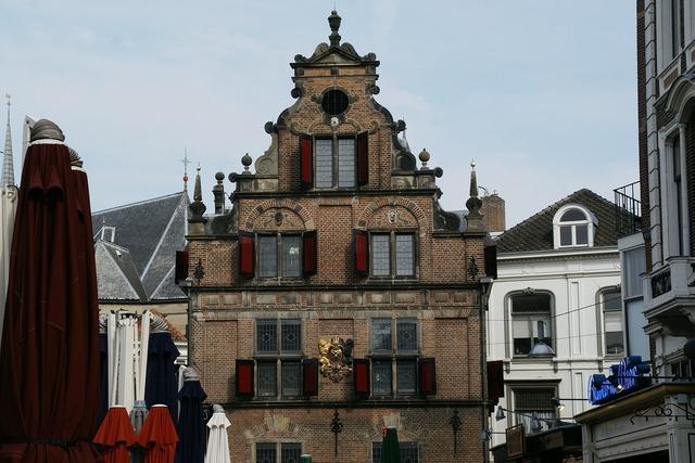 Waaggbebouw nijmegen building, architecture buildings.