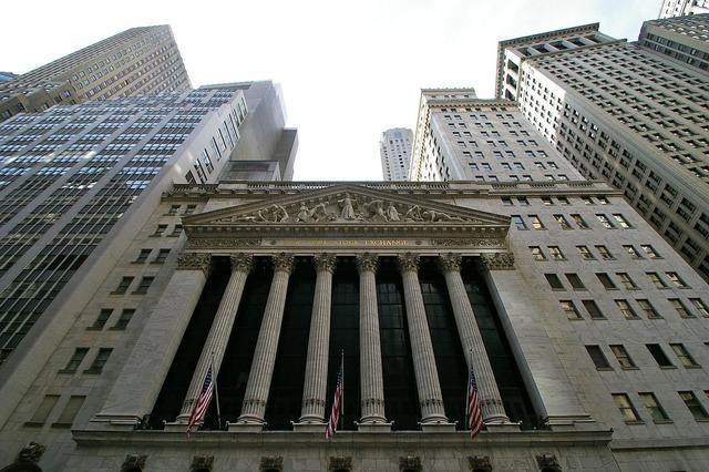 Wall street financial nyc, business finance.