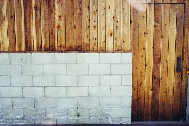 Wall wooden door, architecture buildings.