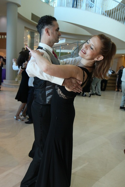 Waltz tango dance, sports.