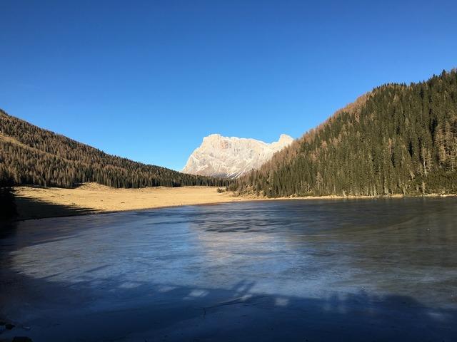 Wander dolomites alps, nature landscapes.