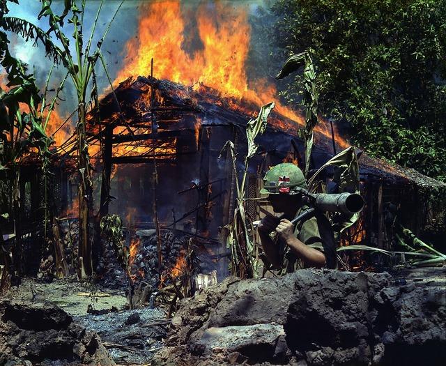War flamethrower soldier.