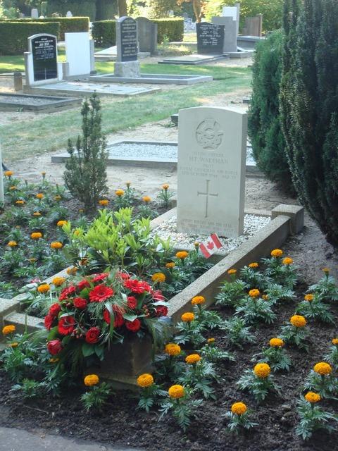 War grave commemoration pilot.