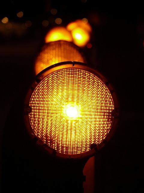 Warning lights warnblinkleuchte light source, transportation traffic.