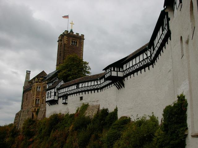 Wartburg castle eisenach thuringia germany.