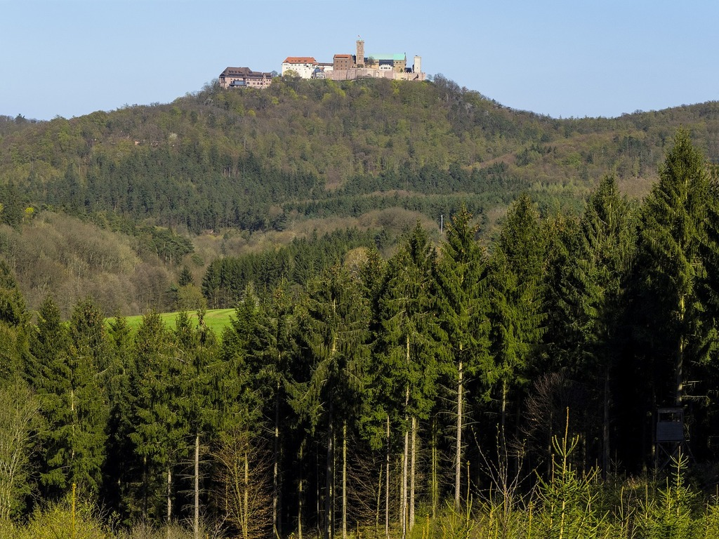 Wartburg castle luther eisenach, religion.