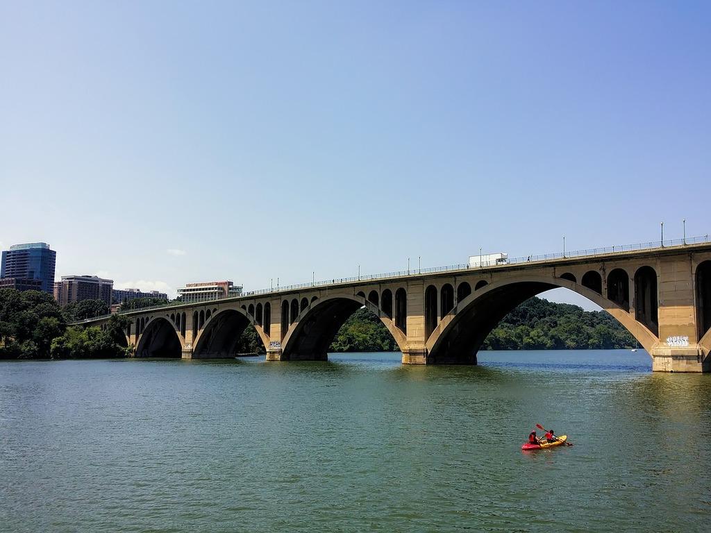 Washington dc river.