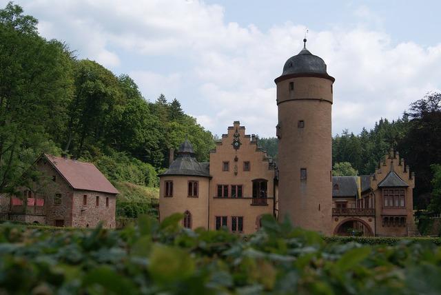 Wasserschloss mespelbrunn moated castle mespelbrunn.