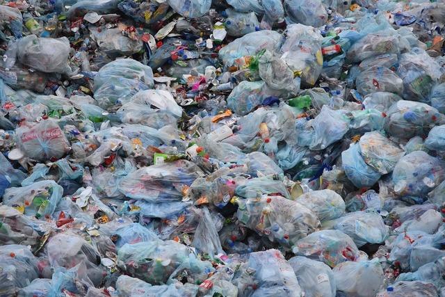 Waste garbage garbage bag.