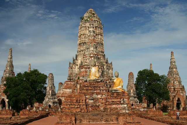 Wat chai watthanaram temple buddhism, religion.