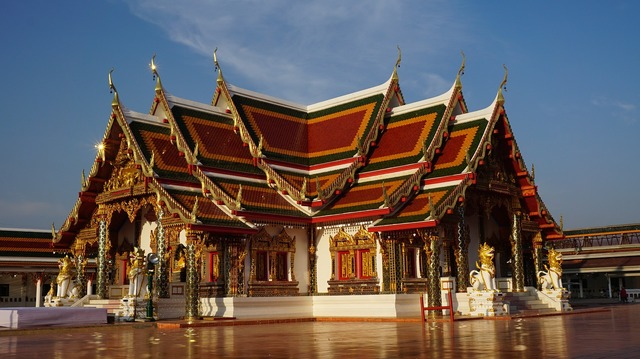 Wat phra that choeng chum the temple measure, religion.