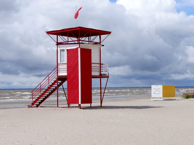 Watchtower coast coast guard, travel vacation.